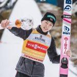 スキージャンプ小林陵侑が行列初登場!大物アスリートKは葛西紀明か?