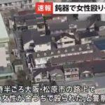大阪府松原市で70代女性が金づちで殴られた場所と犯人の顔写真は?
